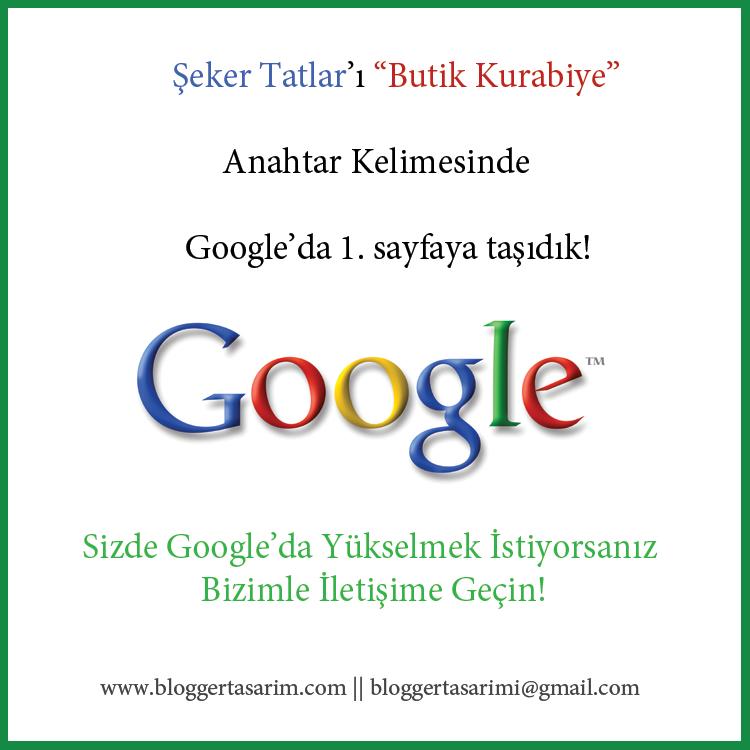 google seo çalışması