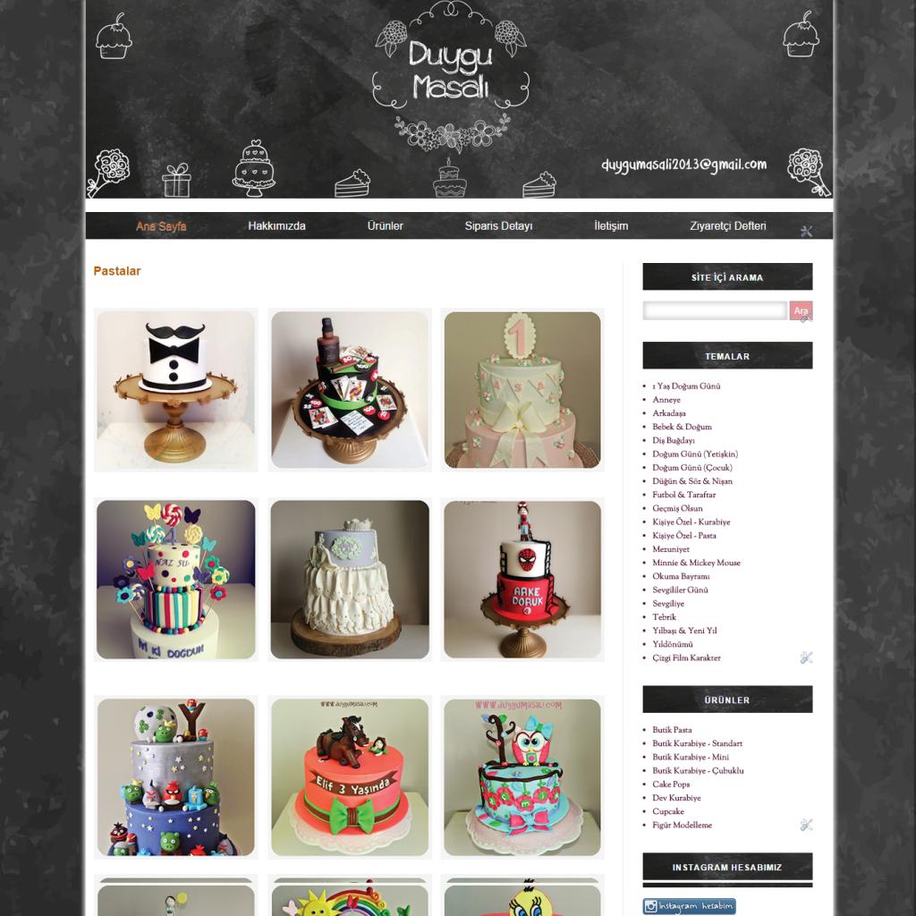 DuyguMasalı Butik Pasta   Kurabiye Tasarımları   Edirne Butik Pasta