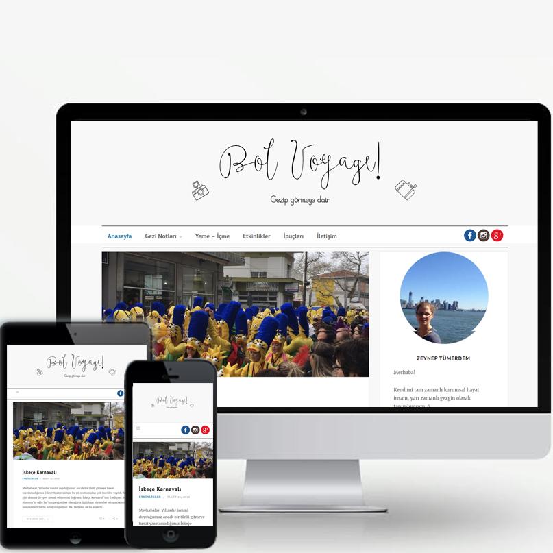 Gezi Blogu Tasarımı