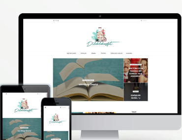 Blog Tasarımı Mobil Görünümlü